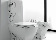 Trendy Bathroom Decor With An Art Deco Twist From Artceram