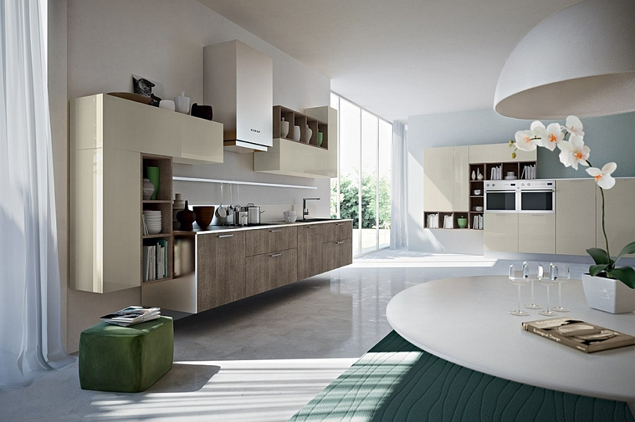 Beautiful Eko kitchen with customizable options and smart shelves