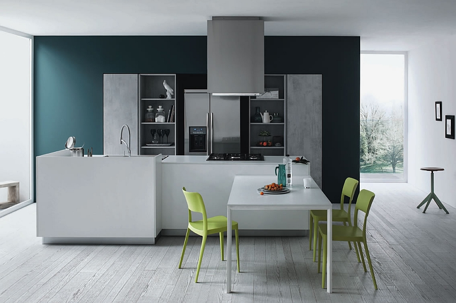Beautiful Italian Kitchen with modern minimalism Functional And Fashionable Kitchen Gives Minimalism A Casual Twist!