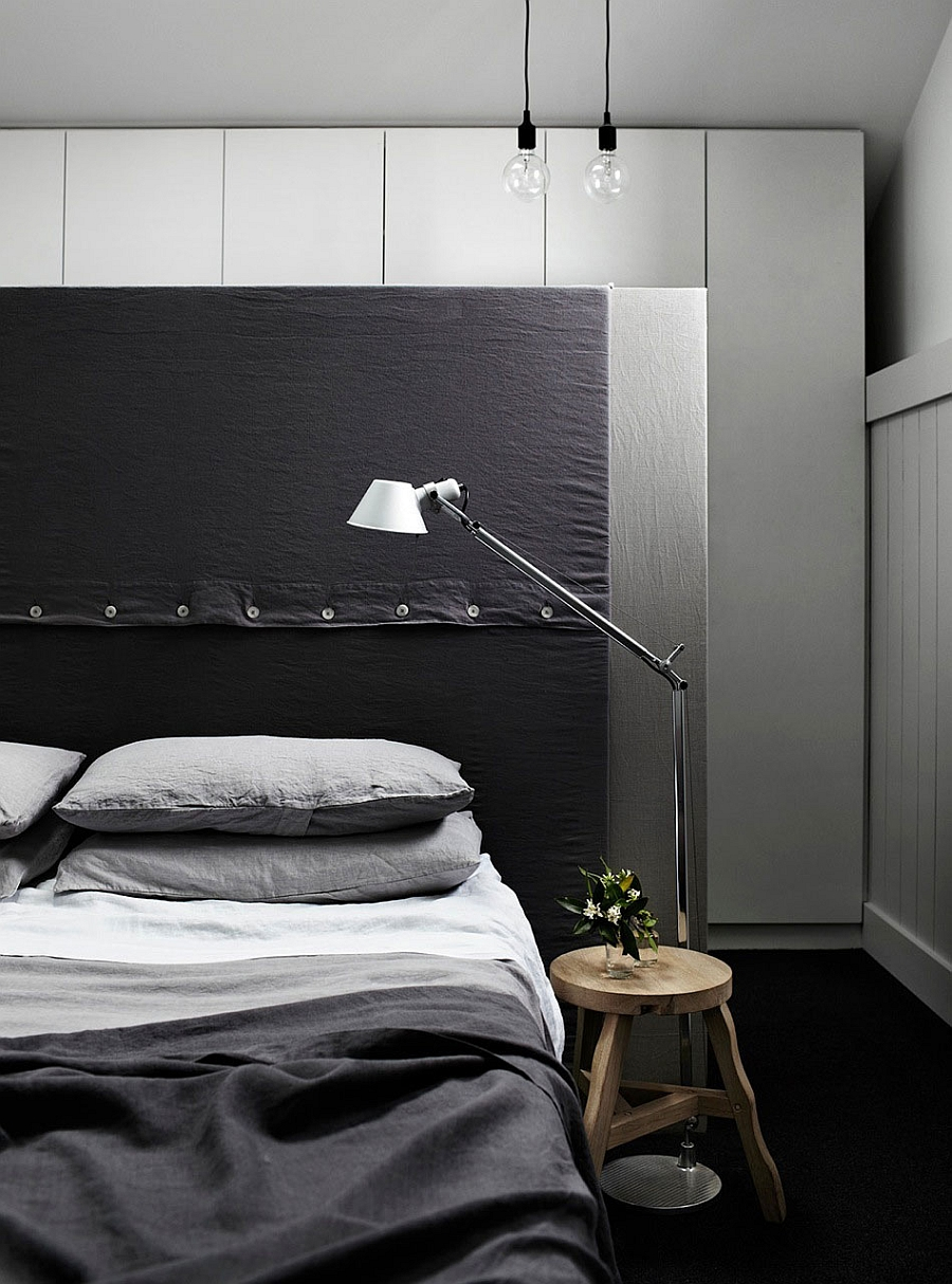 Bedroom lighting that is sleek and minimal