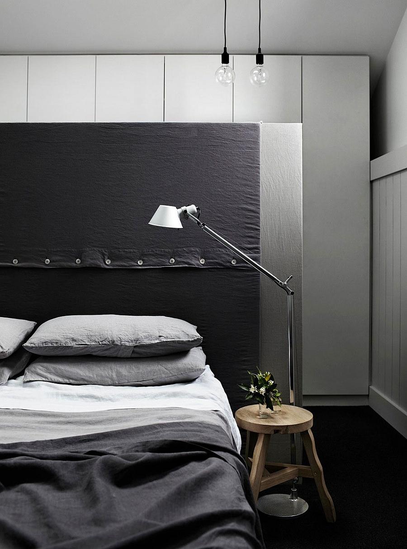 Bedroom lighting that is sleek and minimal