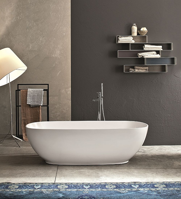 Ingenious Italian-Style Furnishings For The Posh Spa-Like Bathroom