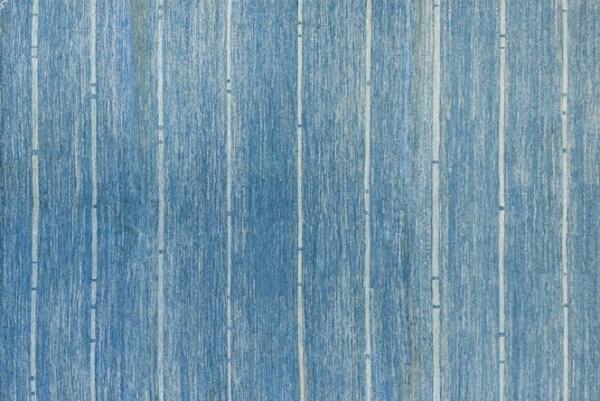 Blue Afghan rug