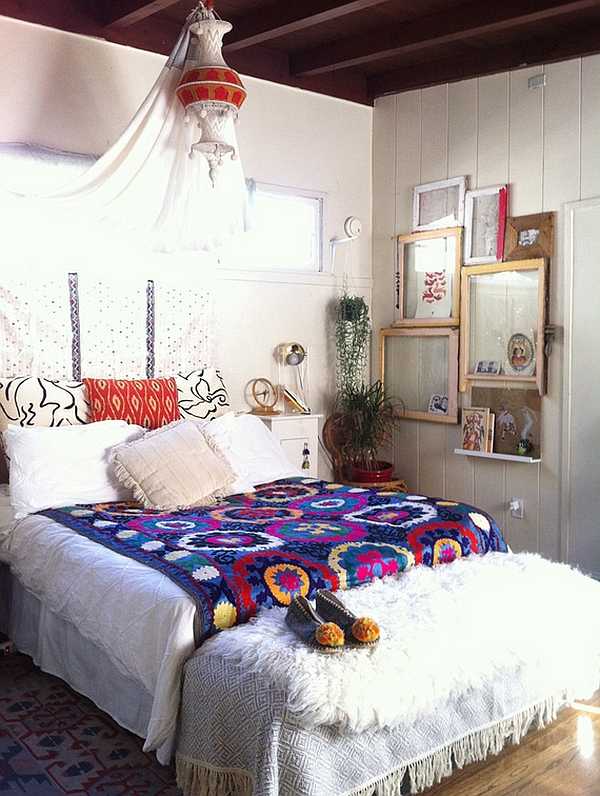 Bedroom Decor Styles bohemian style interiors, living rooms and bedrooms
