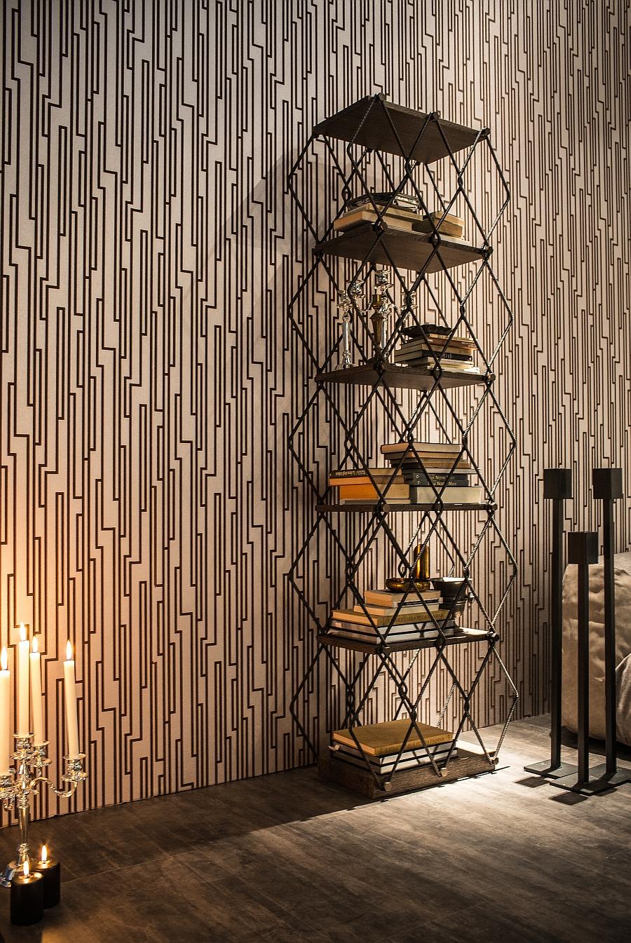 Bookshelf Lady Bird designed by Giuseppe Viganò