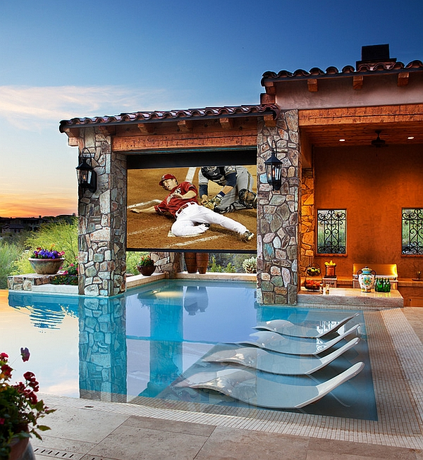 Bring your TV viewing experience outdoors in grand style