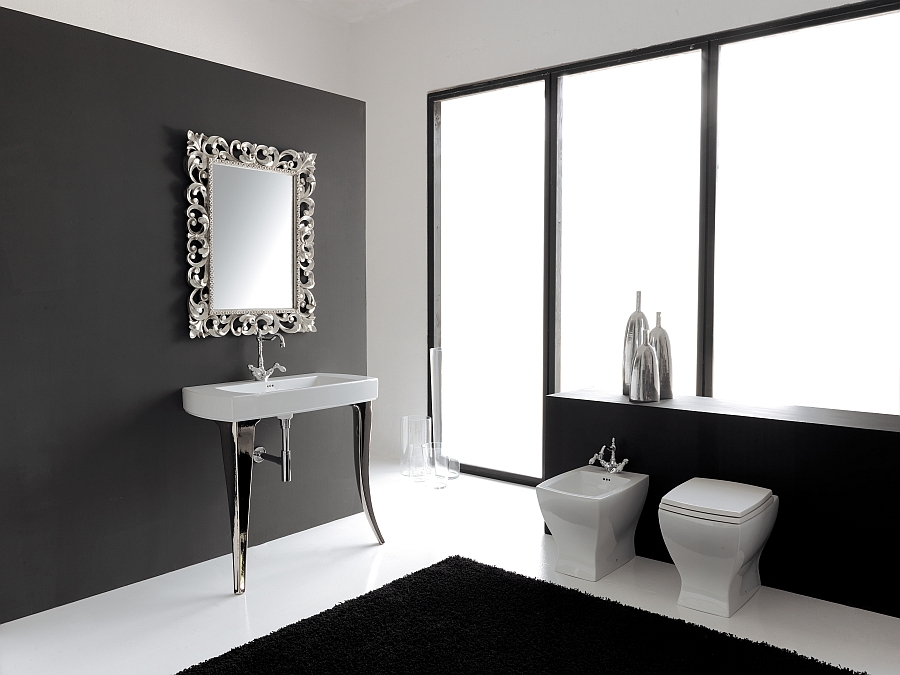 Charming and exclusive Jazz sanitaryware Collection from Artceram
