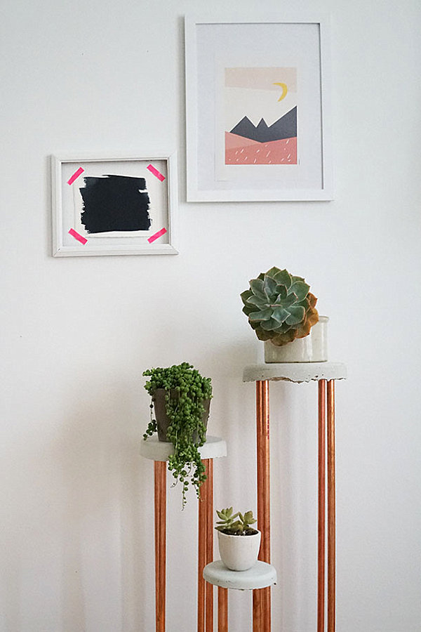 Refresh your space with a diy plant stand or planter - Fabulous flower stand ideas to display your plants look more beautiful ...