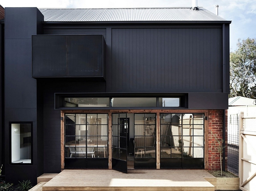 Striking Edwardian Home In Melbourne Gets A Space