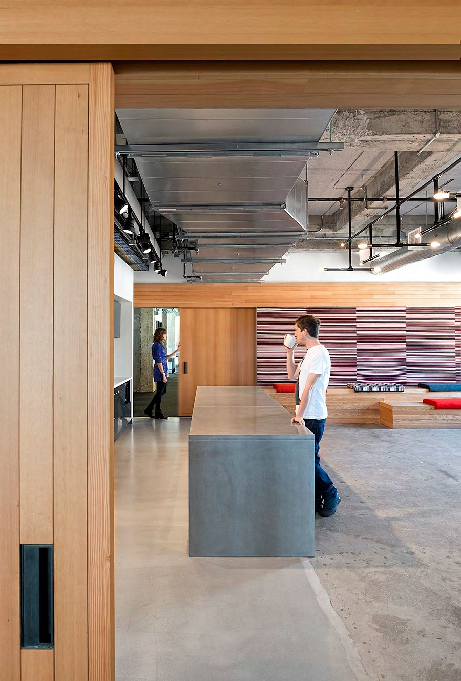 kimball office orders uber yelp. View In Gallery Cool Coffee Room And Kitchen Of The Modern Yelp Office Kimball Orders Uber R