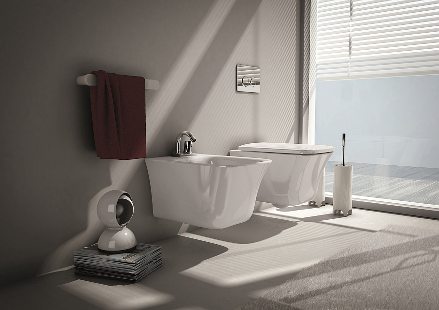 View In Gallery Cow Collection Of Sanitaryware Inspired By Neoclassical Era