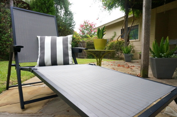 Create an outdoor lounge Outdoor Lounge Design With A DIY Twist
