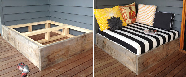 DIY daybed tutorial