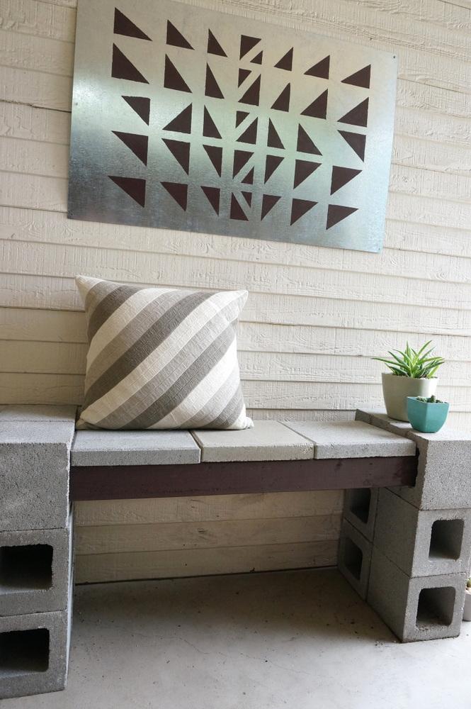 DIY geometric art project