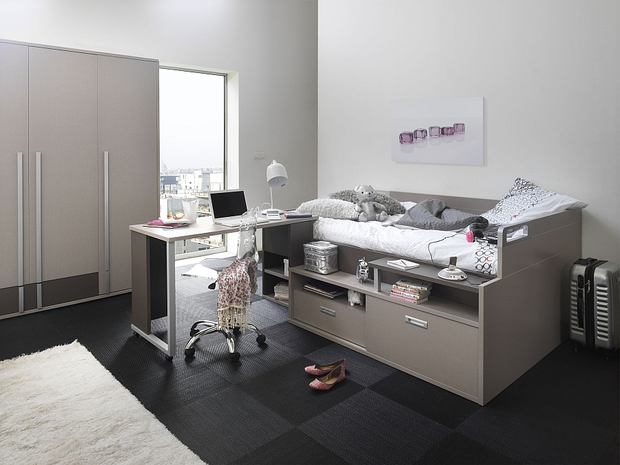 Dimix Collection from Gautier offers maximised storage in a small space thanks to its trendy bed