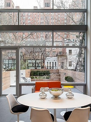 Dining room of NYC Residence