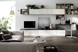 Posh Minimalist Living Spaces Charm With Geometric Lines And Sleek Styling