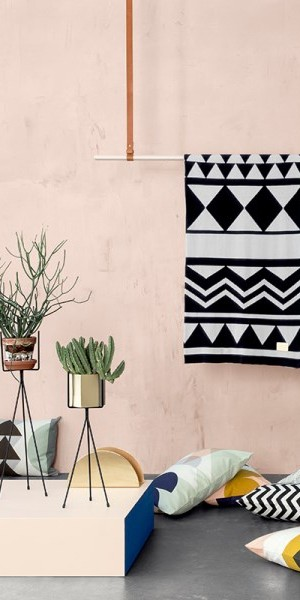 Geometric finds from ferm LIVING