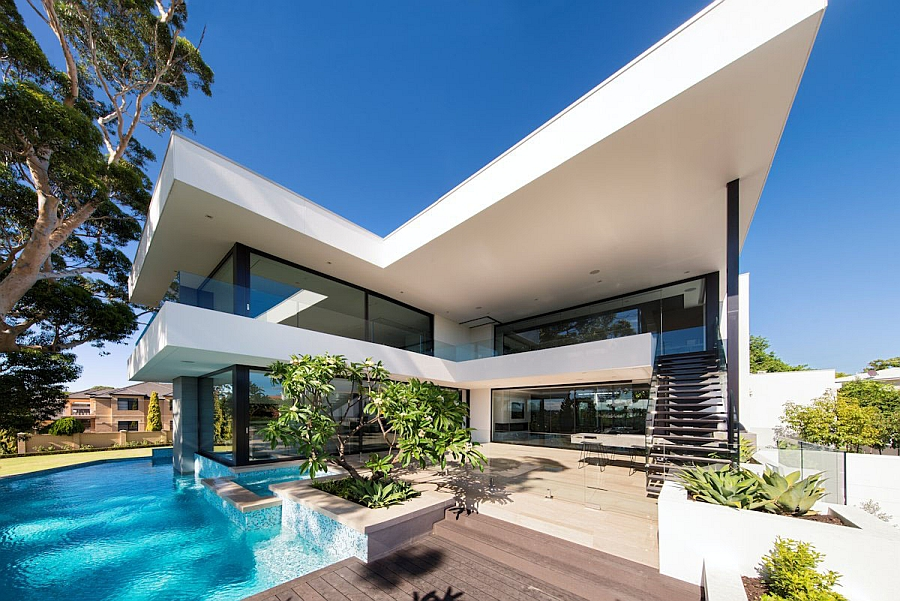 View in gallery Gorgeous urban family house in Perth