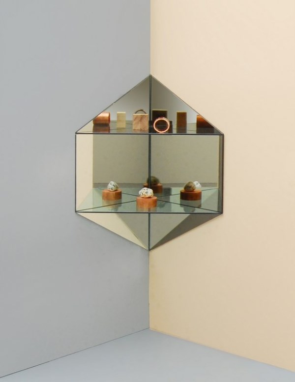 Hex Corner shelf by Ladies & Gentlemen Studio