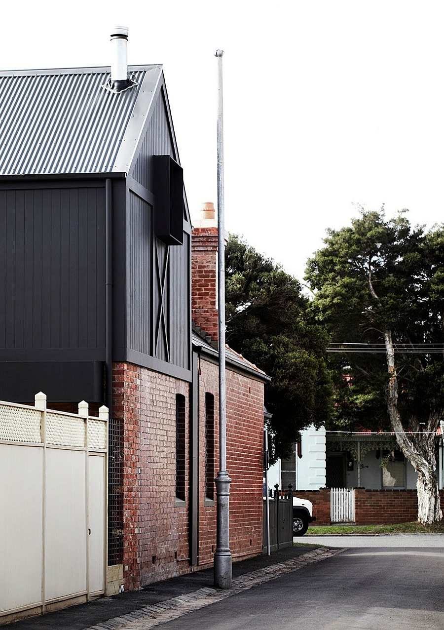 Kerferd by Whiting Architects in Melbourne Australia Striking Edwardian Home In Melbourne Gets A Space Conscious Modern Extension