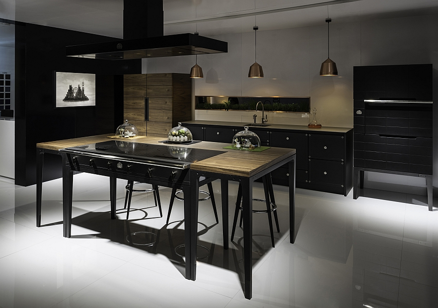 ingenious la cornue w reinterprets classic design for the modern kitchen. Black Bedroom Furniture Sets. Home Design Ideas