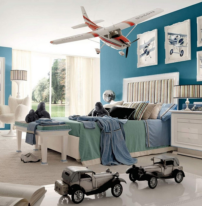 Look beyond the toys and you will see a stunning modern adult bedroom How To Design And Decorate A Kids' Room That Grows With Them