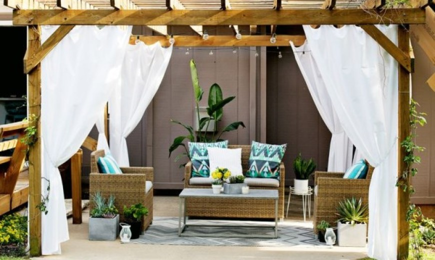 Beau Turn Your Patio Into A Stylish Outdoor Lounge