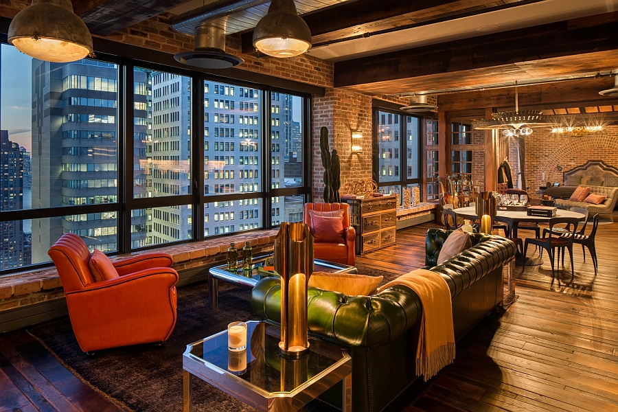 Exclusive antique collection and iconic views shape elite for Penthouse apartments in nyc