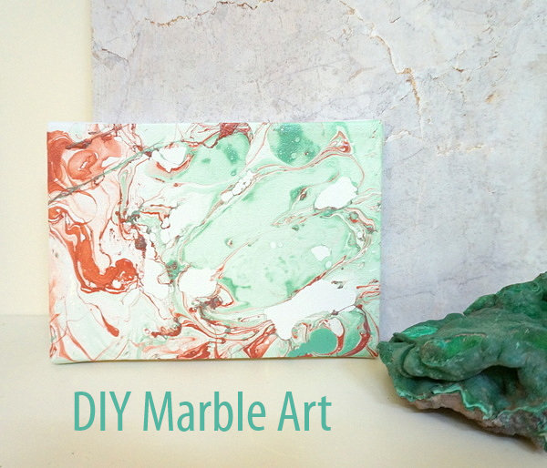 Marble art header A DIY Marble Art Project