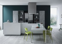 Functional And Fashionable Kitchen Gives Minimalism A Casual Twist!
