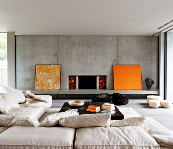 View In Gallery Minimalist Living Room Art