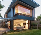 Modern Sydney house with a glass roof pergola