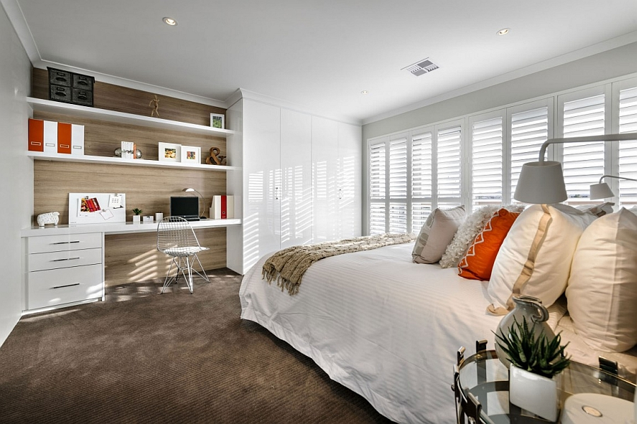 rustic furniture perth. view in gallery modern bedroom with a smart home office nook rustic furniture perth i