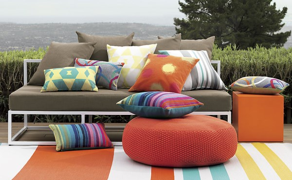 Outdoor pillows from CB2
