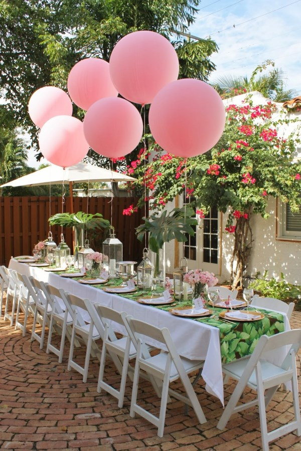 3 refreshing summer party themes - Deco table exterieur ...