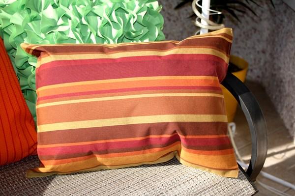 Placemat DIY pillow project