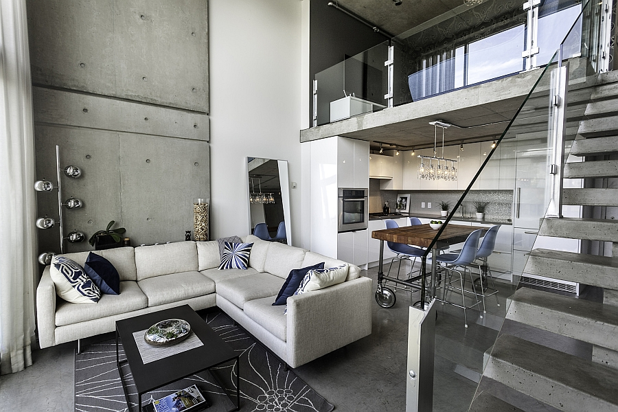 Classy Customized Penthouse In Vancouver Offers A Relaxed Urban Retreat