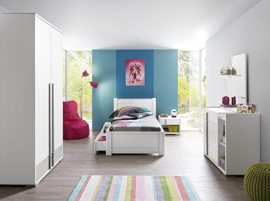 Posh Tactil bedroom fits in with a relaxed, contemporary theme effortlessly