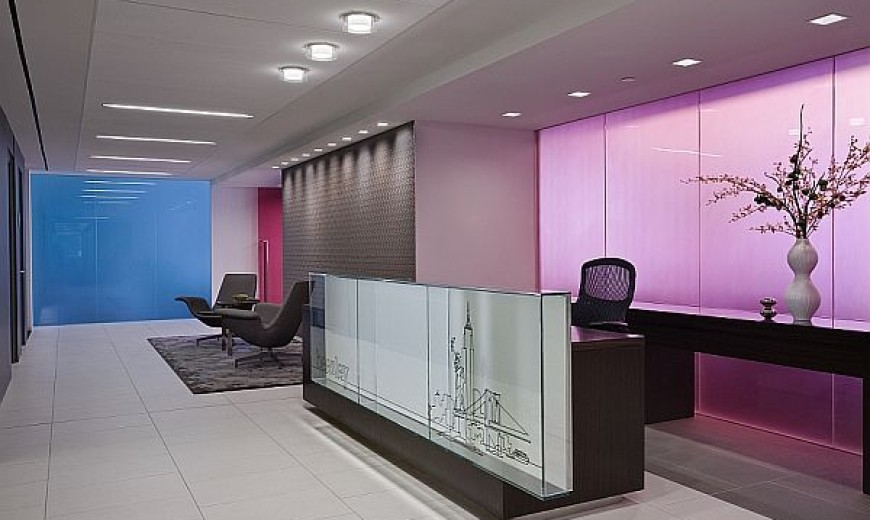 Colorful And Versatile Glass Partitions Enliven Interiors With A Playful Charm