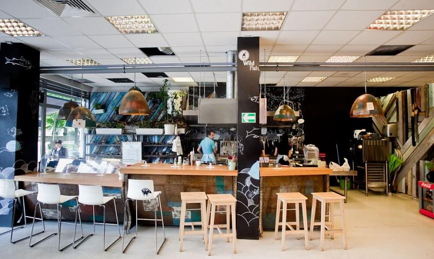 "Fresh Fish & Great Design at ""Raionul de Peste"" in Bucharest"