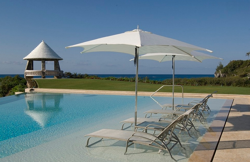 Relax in the pool with some stylish water loungers