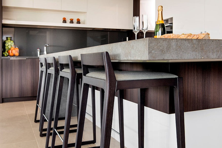 Bar Stool Kitchen Island Simple And Sleek Stools For The Modern