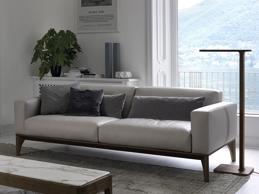 Sleek and minimal floor lamp with eco-friendly LED lighting