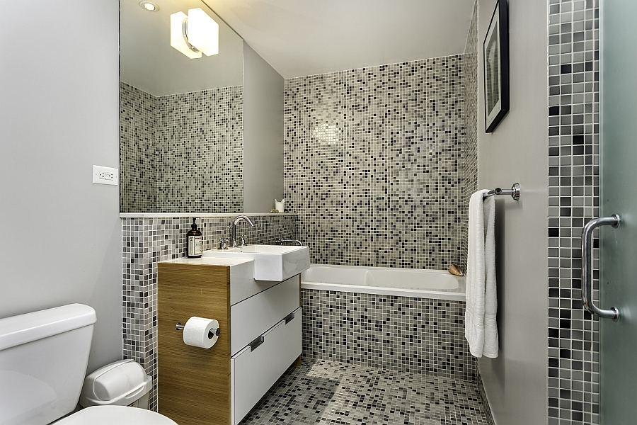 Small bathroom design idea for the trendy modern home