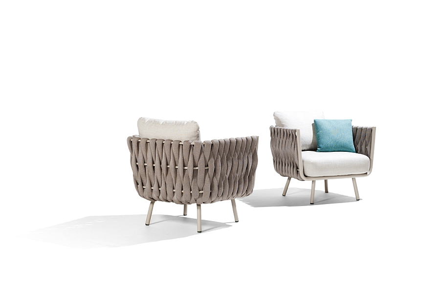 Smart and chic Clubchairs designed by Monica Armani