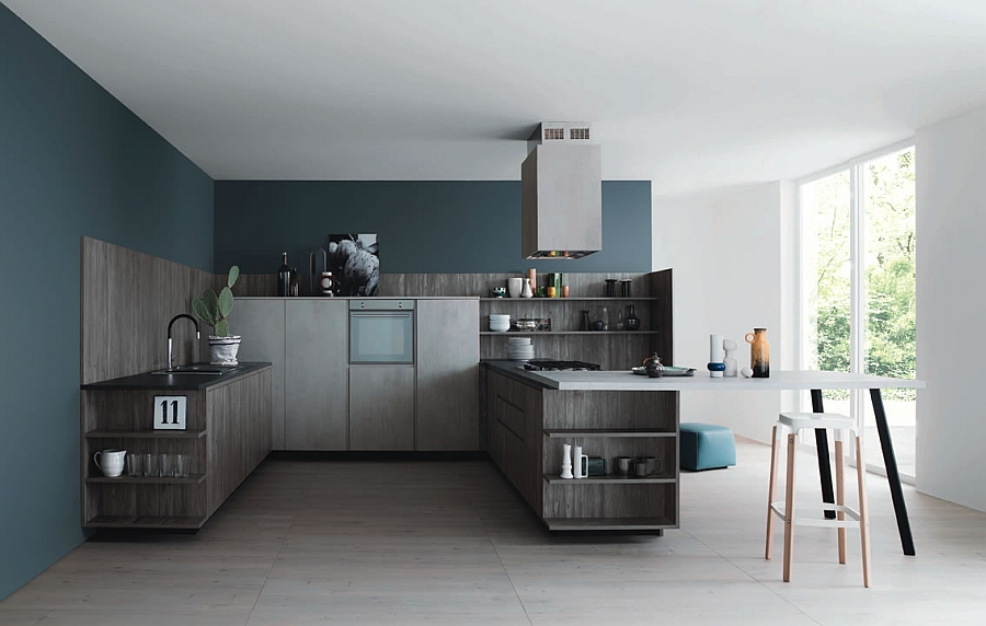 Smart modern kitchen that can be customized to suit individual homes