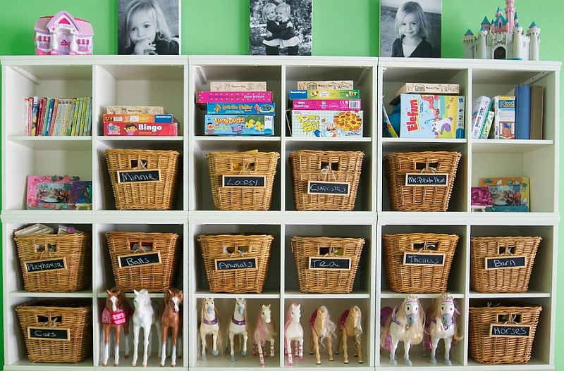 How to design and decorate kids rooms for Storage for kids rooms
