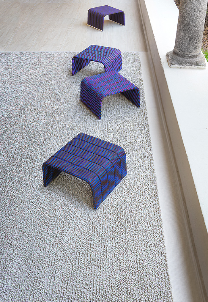 Stunning minimal seating take up very little space