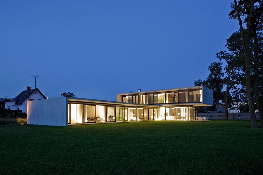 Stylish Austrian contemporary house with smart design